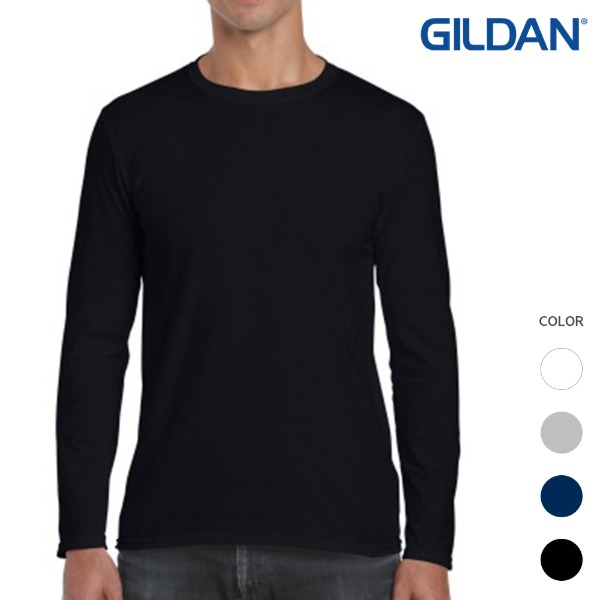 [GILDAN] 긴팔 라운드티 PREMIUM COTTON (4color)